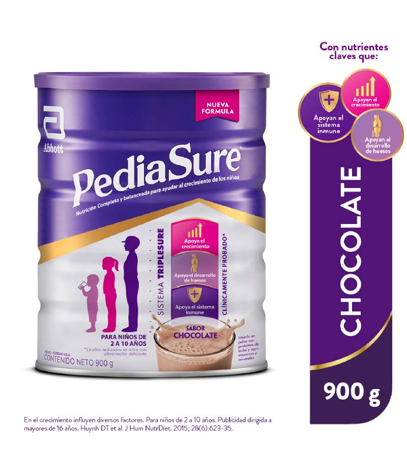 Pediasure Chocolate Lata x 900 g