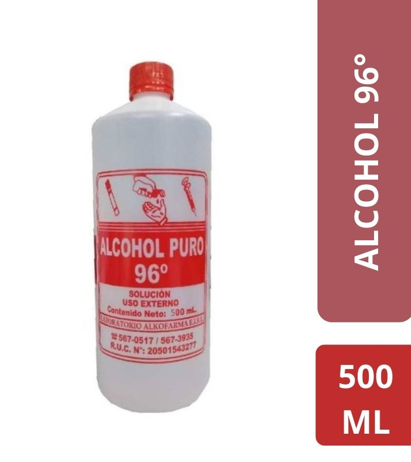 Alcohol Puro 96° x 500 ml