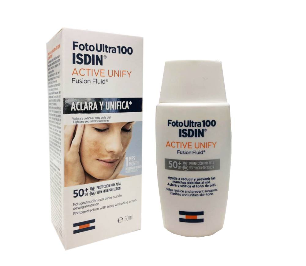 Fotoprotector Isdin Active Unify SPF 50+ x 50 ml