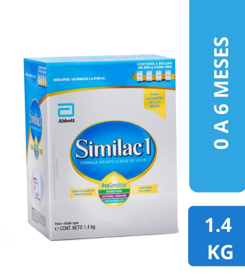 Similac 1 Pro Sensitive Caja x 1.4 Kg
