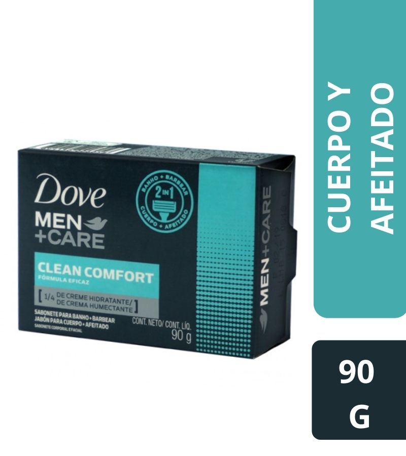 Jabón Dove Men +Care Clean Comfort x 90g