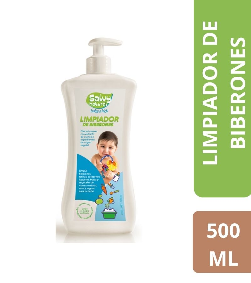 Limpiador de Biberones Salvy Natural x 500 ml