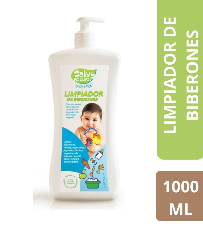 Limpiador de Biberones Salvy Natural x 1000 ml
