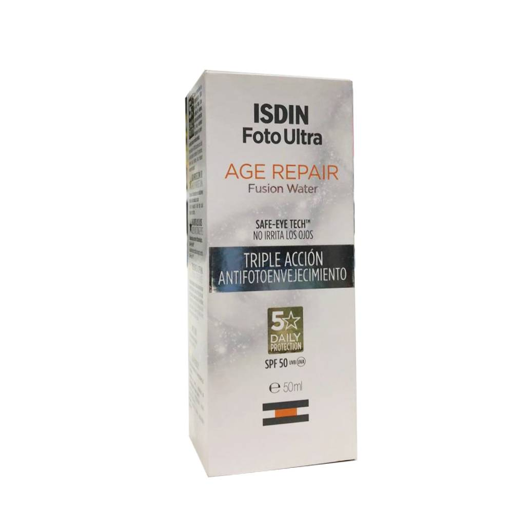 Fotoprotector Isdin Ultra Age Repair Fusion Water SPF 50 x 50ml