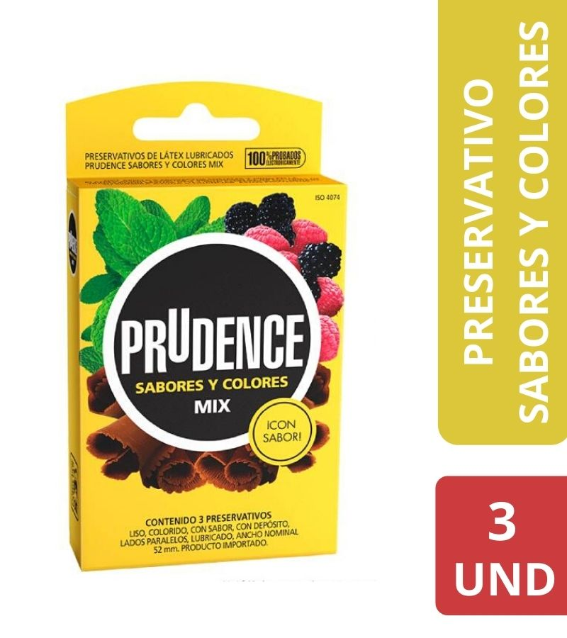 Prudence Mix x 3 Unidades