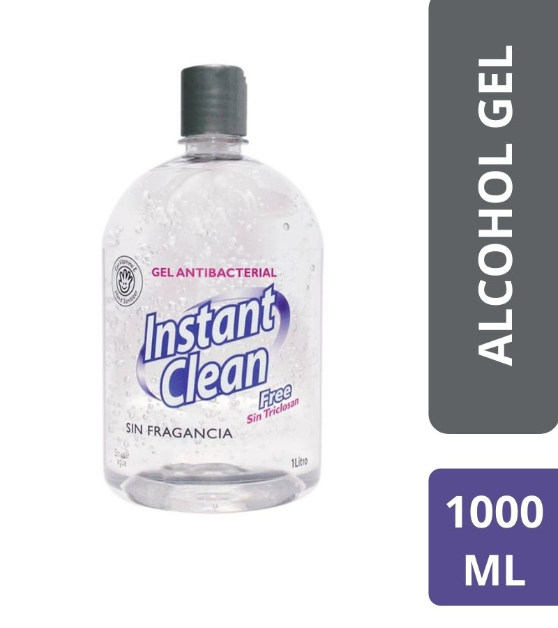 Gel Antibacterial Instant Clean x 1000 ml