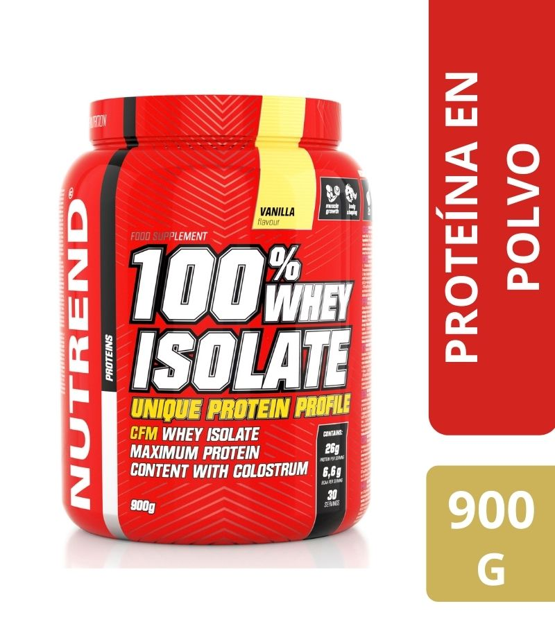 100% Whey Isolate Nutrend Vainilla x 900 g