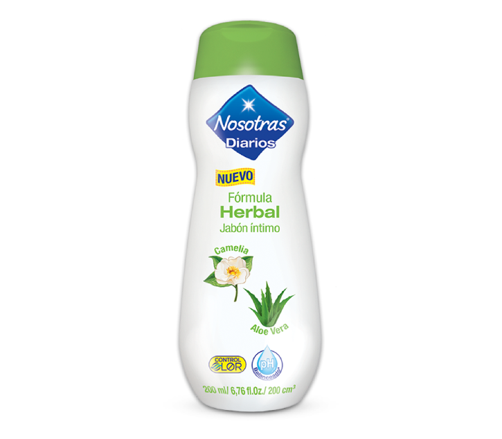 Nosotras Jabón Intimo Herbal x 200 ml