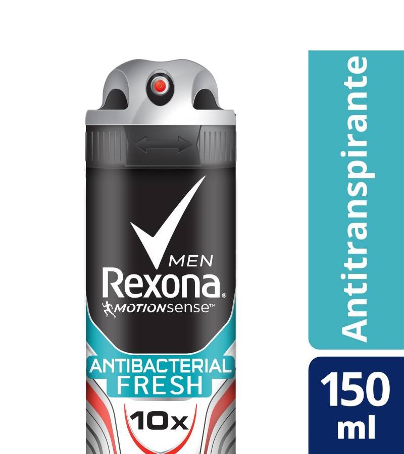 Desodorante en Spray Rexona Men Antibacterial Fresh x 150 ml