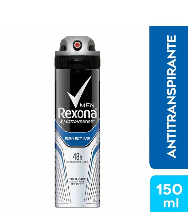 Desodorante en Spray Rexona Men Sensitive x 150 ml