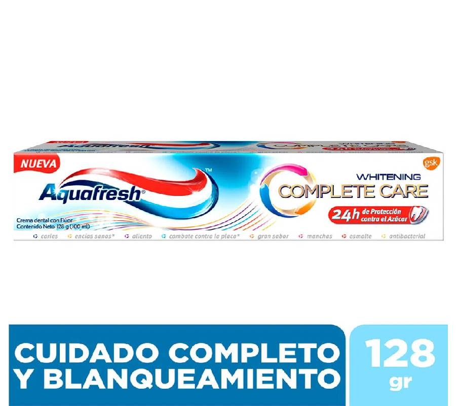 Pasta Dental Aquafresh Complete Care x 128 g