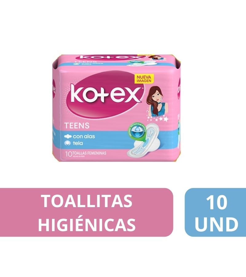 Kotex Normal Teens x 10 Unidades