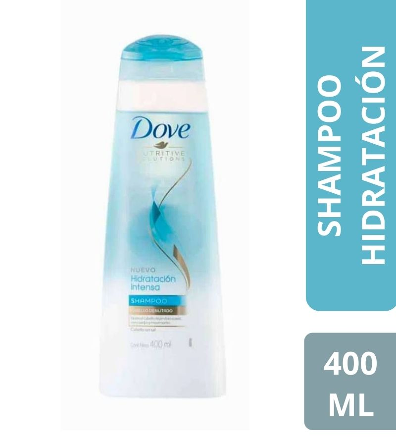 Shampoo Dove Hidratación Intensa x 400 ml