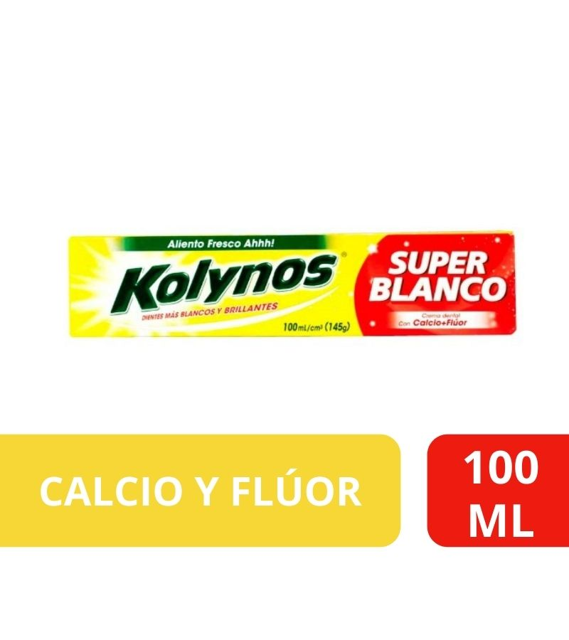 Pasta Dental Kolynos Super Blanco x 100 ml