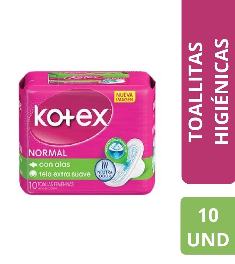 Kotex Normal x 10 Unidades