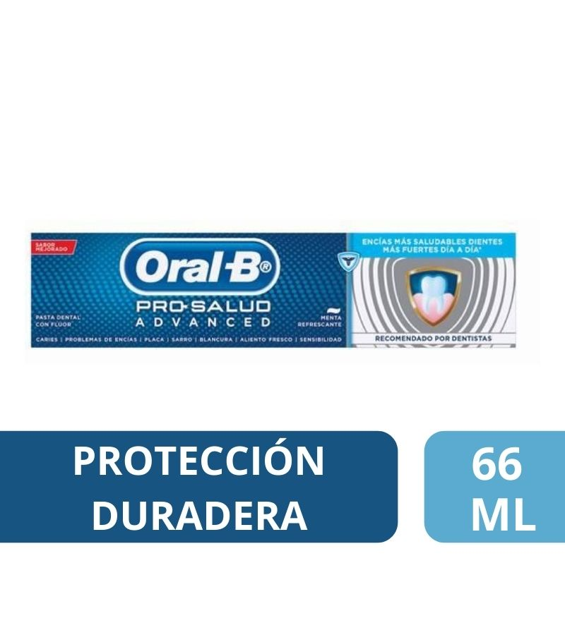 Pasta Dental Oral-B Pro Salud Advance x 66 ml