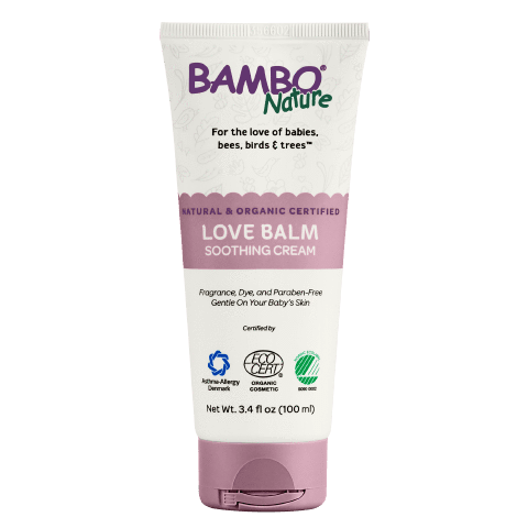 Crema Para Bebé Love Balm Soothing Cream Bambo Nature  x 100 ml